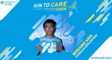 Lemri Berlari 150 KM Demi 2.200 Anak Negeri