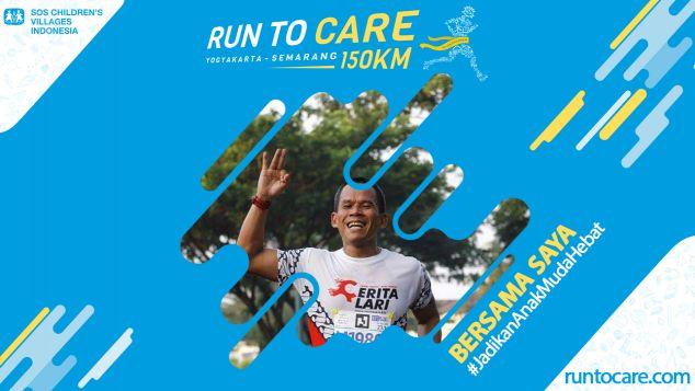 Erry Berlari 150 KM Demi 2.200 Anak Negeri