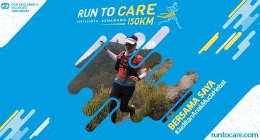 Badra Berlari 150 KM Demi 2.200 Anak Negeri