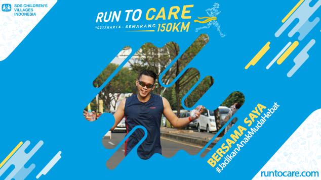 Wiko Perbaik Berlari 150 KM Demi 2.200 Anak Negeri