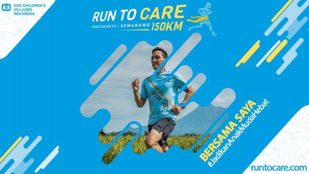 Agung M Berlari 150 KM Demi 2.200 Anak Negeri