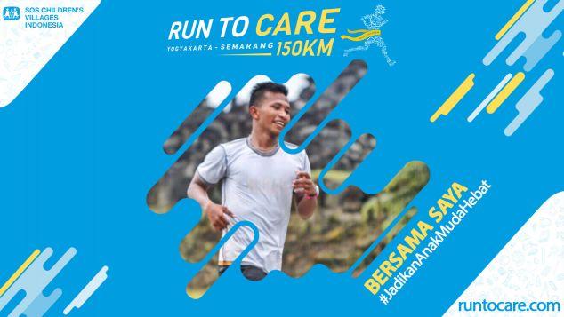Alan Berlari 150 KM Demi 2.200 Anak Negeri