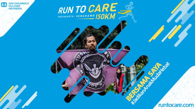 Rohidi Berlari 150 KM Demi 2.200 Anak Negeri