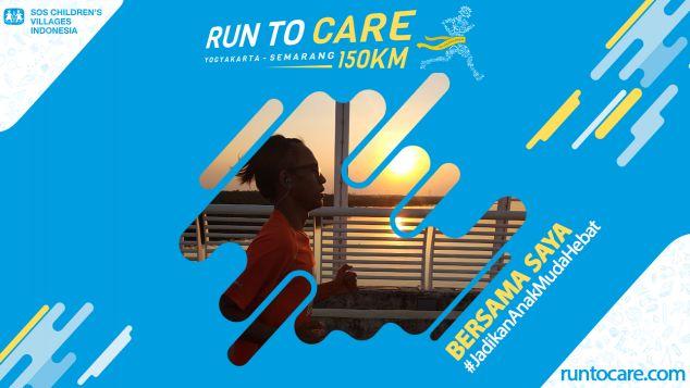 Muhamad Eghi Berlari 150 KM Demi 2.200 Anak Negeri