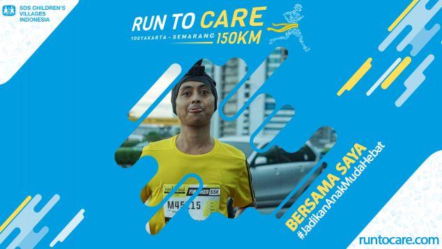 Prihatin Berlari 150 KM Demi 2.200 Anak Negeri