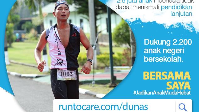 Bima Berlari 150 KM Demi 2.200 Anak Negeri