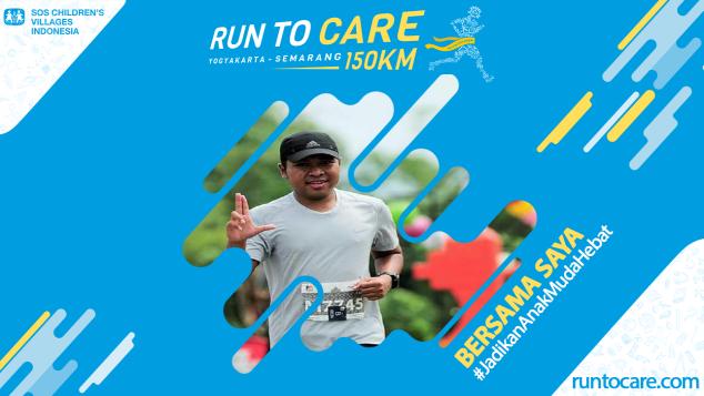 Basuki Berlari 150 KM Demi 2.200 Anak Negeri