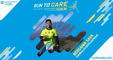 Desmon Berlari 150 KM Demi 2.200 Anak Negeri