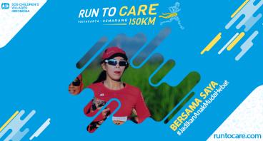 Frida Berlari 150 KM Demi 2.200 Anak Negeri