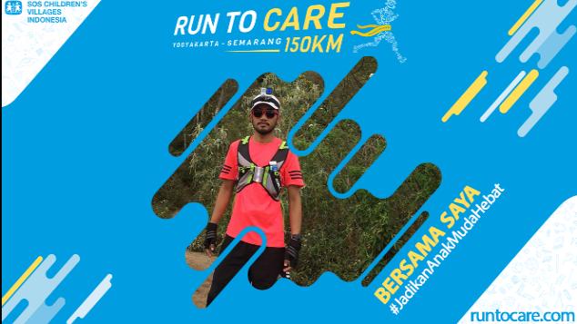 Hansa Berlari 150 KM Demi 2.200 Anak Negeri