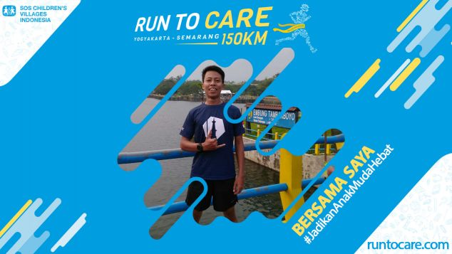 Arizal Berlari 150 KM Demi 2.200 Anak Negeri