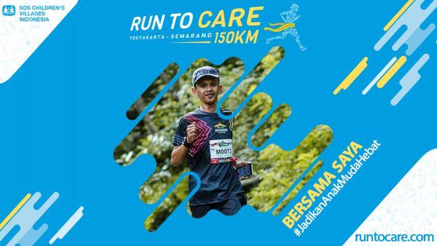 Sri Kustadi Berlari 150 KM Demi 2.200 Anak Negeri