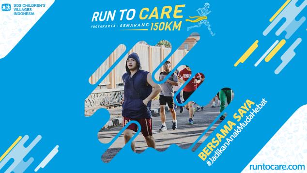 Yalla Berlari 150 KM Demi 2.200 Anak Negeri