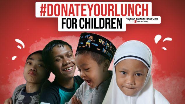 #DonateYourLunch For Children