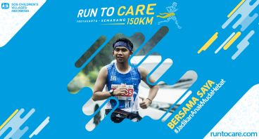 Ali Akbar Berlari 150 KM Demi 2.200 Anak Negeri