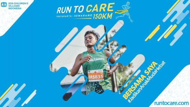 Zain Berlari 150  KM Demi 2.200 Anak Negeri