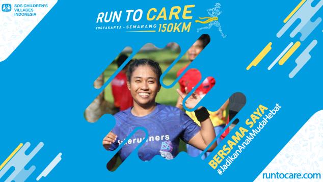 Nina Berlari 150 KM Demi 2.200 Anak Negeri