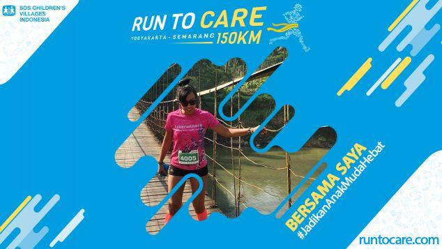 Rachel Berlari 150 KM Demi 2.200 Anak Negeri