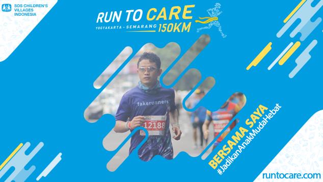 Setiawan Berlari 150 KM Demi 2.200 Anak Negeri