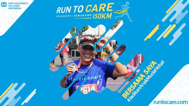Rachardano Berlari 150 KM Demi 2.200 Anak Negeri