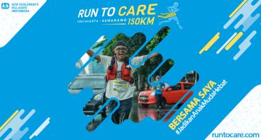 Deddy Berlari 150 KM Demi 2.200 Anak Negeri