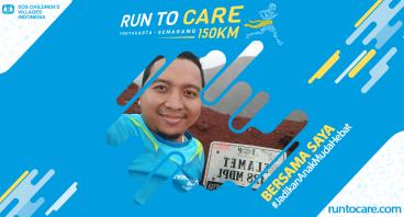 Wahab Berlari 150 KM Demi 2.200 Anak Negeri