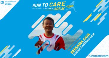 Nindi Berlari 150 KM Demi 2.200 Anak Negeri