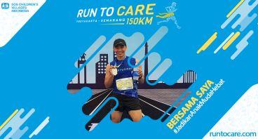 Bruce Berlari 150 KM Demi 2.200 Anak Negeri