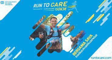 Agustian Berlari 150 KM Demi 2.200 Anak Negeri