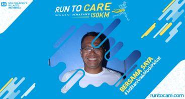 Aji Berlari 150 KM Demi 2.200 Anak Negeri