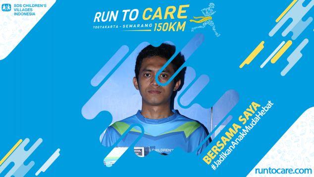 Yovan Berlari 150 KM Demi 2.200 Anak Negeri