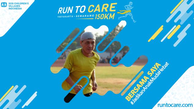Rusdyanto Berlari 150 KM Demi 2.200 Anak Negeri