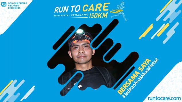 Nurjaman Berlari 150 KM Demi 2.200 Anak Negeri