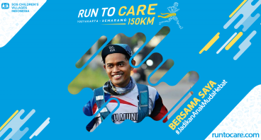 Jejen Berlari 150 KM Demi 2.200 Anak Negeri