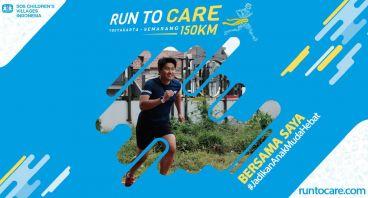 Ronald Berlari 150 KM Demi 2.200 Anak Negeri