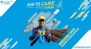 Benediktus Berlari 150 KM Demi 2.200 Anak Negeri