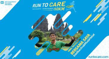 Michael Mawi Berlari 150 KM Demi 2.200 Anak Negeri