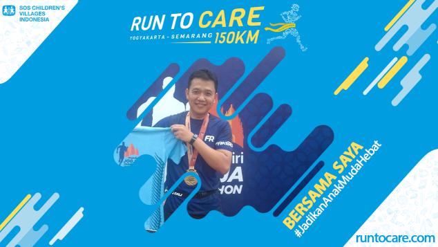 Armen Berlari 150 KM Demi 2.200 Anak Negeri