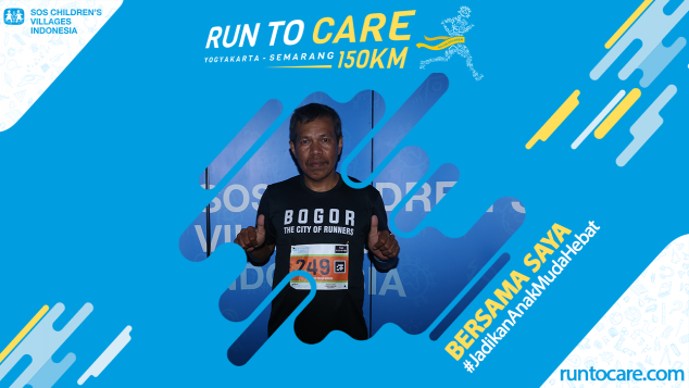 Robertus Berlari 150 KM Demi 2.200 Anak Negeri