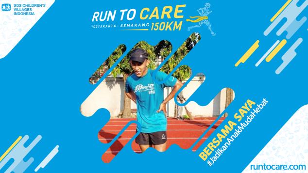 Ardhi Berlari 150 KM Demi 2.200 Anak Negeri