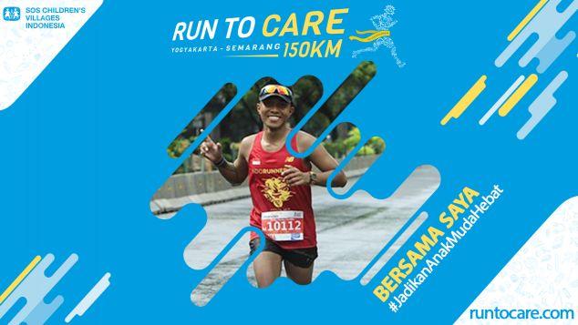 Yonky Berlari 150 KM Demi 2.200 Anak Negeri