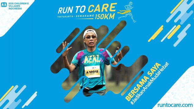 Suprijadi Berlari 150 KM Demi 2.200 Anak Negeri