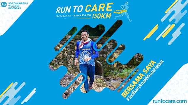 Rohmad Berlari 150 KM Demi 2.200 Anak Negeri