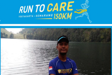 Rizal M. Berlari 150 KM Demi 2.200 Anak Negeri