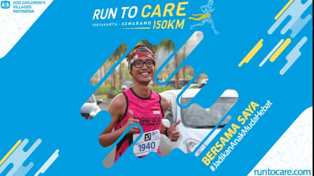 Faqih Berlari 150 KM Demi 2.200 Anak Negeri