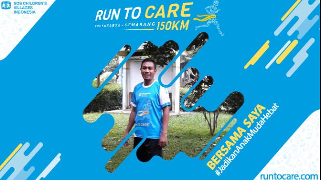 Yunus Ismail Berlari 150 KM Demi 2.200 Anak Negeri