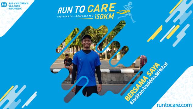Arridho Berlari 150 KM Demi Anak Negeri