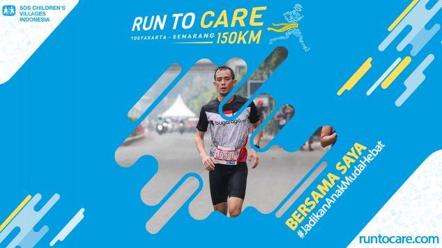 Thomas Berlari 150 KM Demi 2.200 Anak Negeri