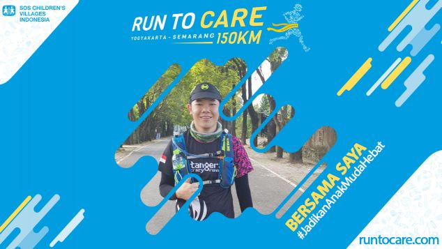 Steven S. Berlari 150 KM Demi 2.200 Anak Negeri