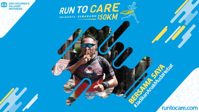 Rully Berlari 150 KM Demi 2.200 Anak Negeri